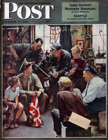 The Saturday Evening Post October 13, 1945