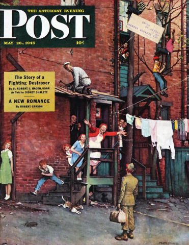 The Saturday Evening Post May 26, 1945