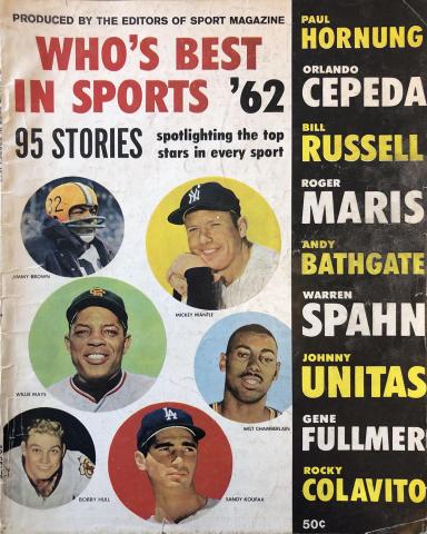 Sport Who's Best In Sports 1962