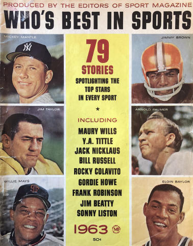 Sport Who's Best In Sports 1963