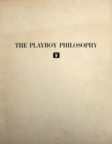 The Playboy Philosophy