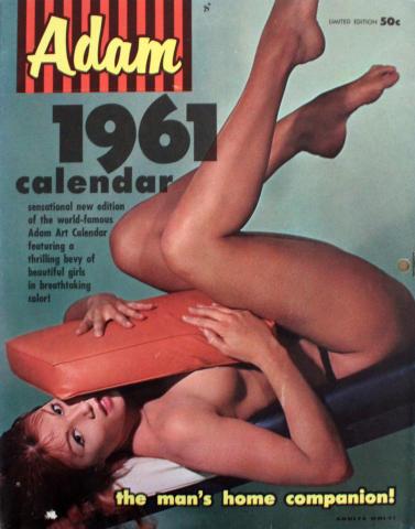 Adam 1961 CALENDAR