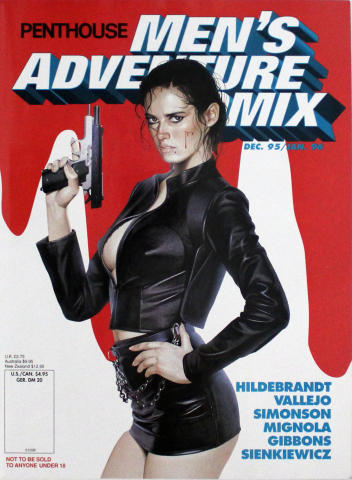 Penthouse Men's Adventure Comix