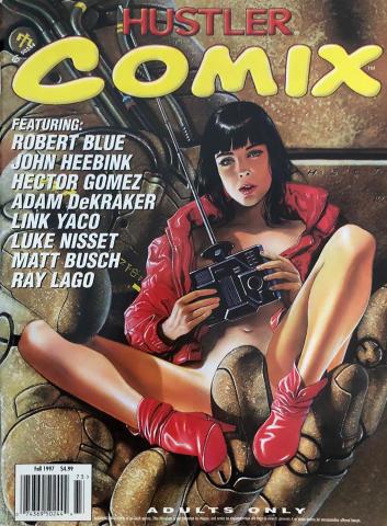 Hustler COMIX Vol. 1 No. 3