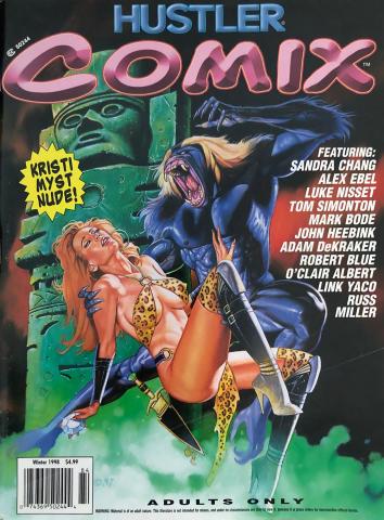 Hustler COMIX Vol. 1 No. 4