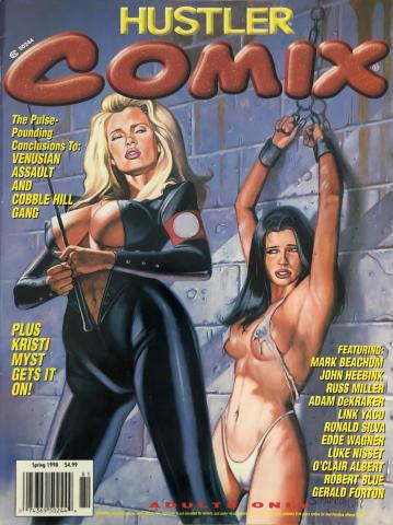 Hustler COMIX Vol. 2 No. 1