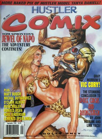 Hustler COMIX Vol. 2 No. 4
