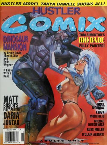 Hustler COMIX Vol. 2 No. 5