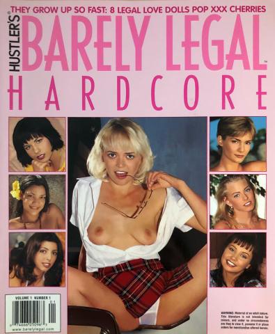 Hustler Barely Legal Vol. 1 No. 1