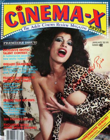 Cinema X Vol. 1 No. 1