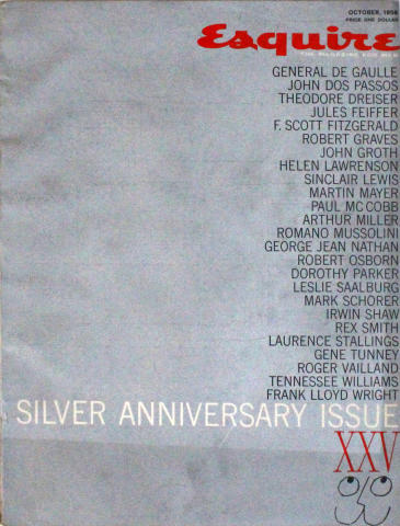 Esquire: Silver Anniversary Issue