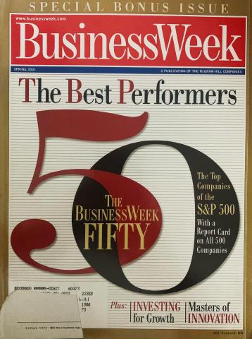 Business Week Spring 2001 Special Bonus Issue