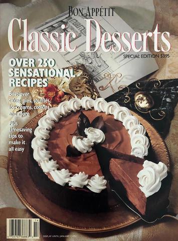 Bon Appetit Classic Desserts