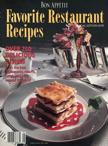Bon Appetit Favorite Restaurant Recipes