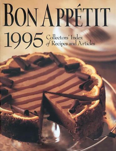 Bon Appetit Collectors' Index of Recipes and Articles