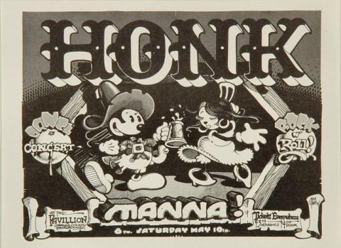 Honk Handbill