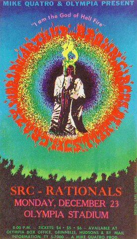 The Crazy World of Arthur Brown Handbill