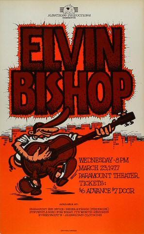 Elvin Bishop Poster