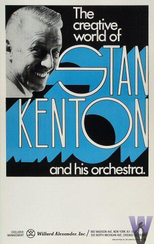 Stan Kenton and His Orchestra Poster