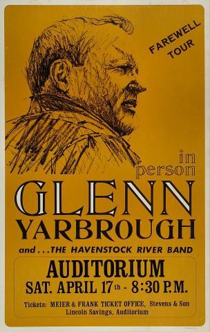 Glenn Yarbrough Poster