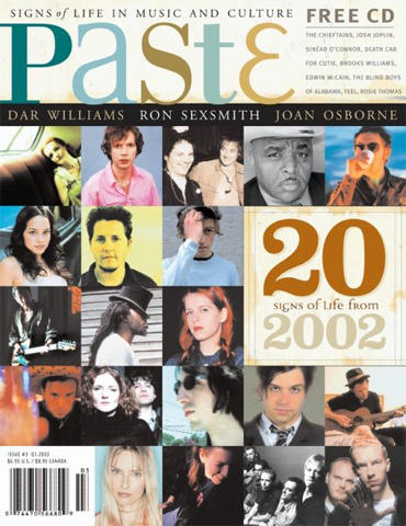 Paste Magazine January 2003