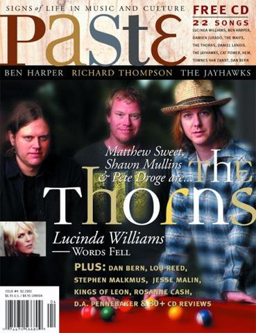 Paste Magazine April 2003