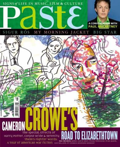 Paste Magazine October 2005