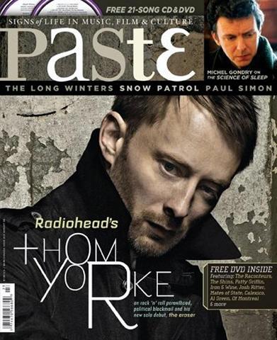 Paste Magazine August 2006