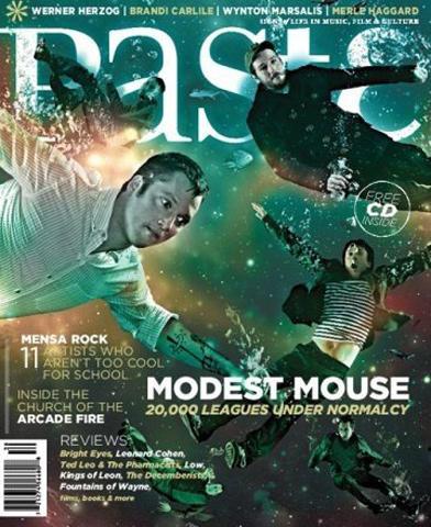 Paste Magazine April 2007