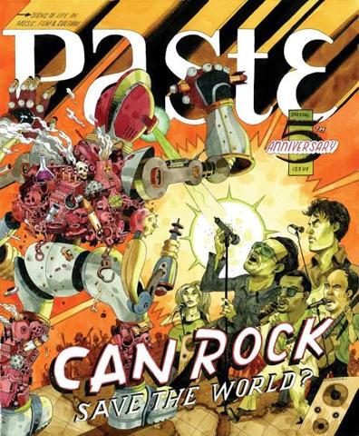 Paste Magazine July 2007