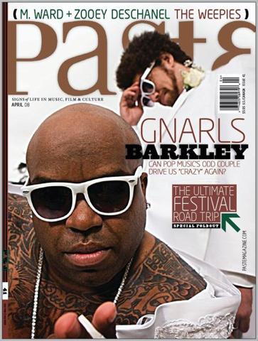 Paste Magazine April 2008