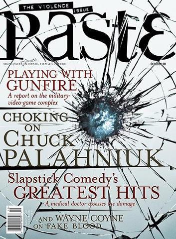 Paste Magazine October 2008