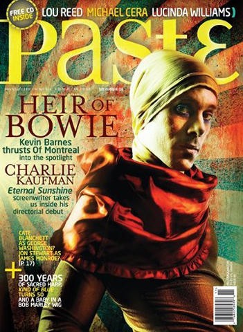 Paste Magazine November 2008