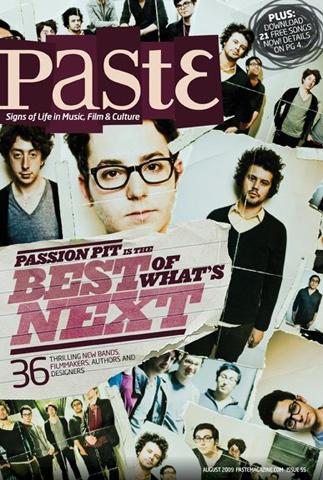 Paste Magazine August 2009