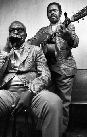 Sonny Terry & Brownie McGhee Fine Art Print