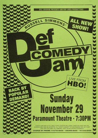 Russell Simmons' Def Comedy Jam Poster