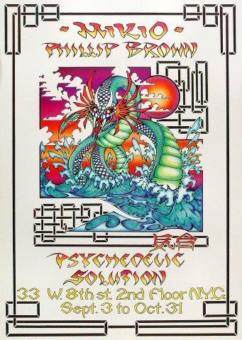 Phillip Brown Poster