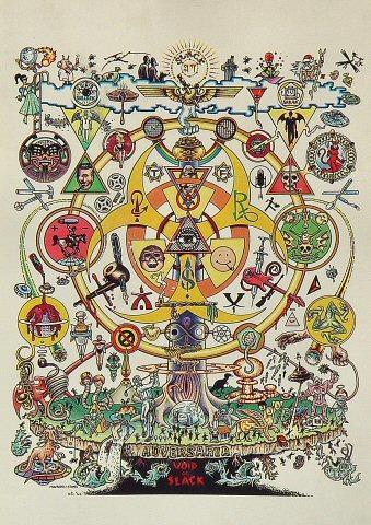 Sacred Art of the Subgenius Postcard