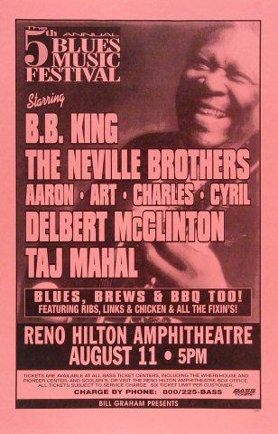 Blues Music Festival Poster