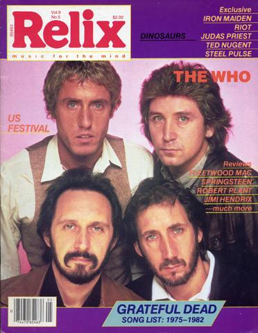Relix Magazine October 1982