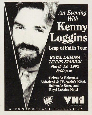 Kenny Loggins Handbill