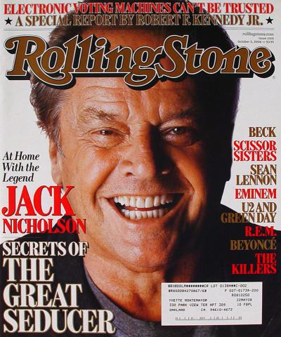 Rolling Stone Magazine October 5, 2006