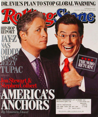 Rolling Stone Magazine November 16, 2006