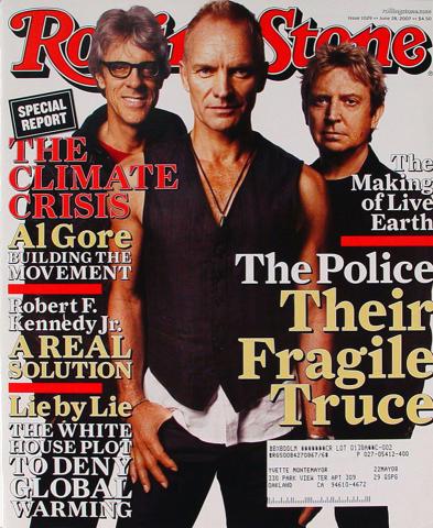 Rolling Stone Magazine June 28, 2007