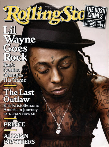 Rolling Stone Magazine April 16, 2009