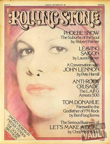 Rolling Stone Magazine June 5, 1975