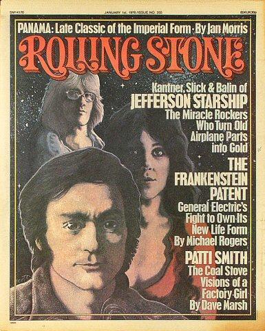 Rolling Stone Magazine January 1, 1976