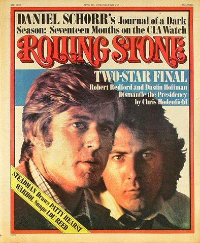 Rolling Stone Magazine April 8, 1976