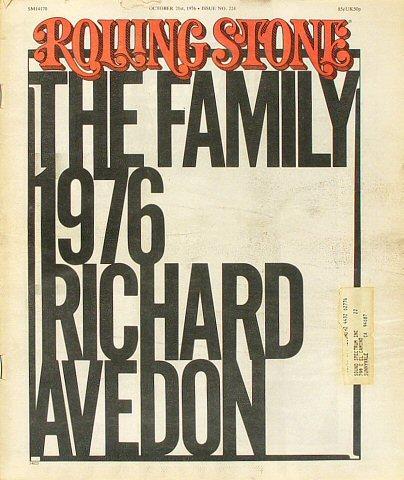 Rolling Stone Magazine October 21, 1976