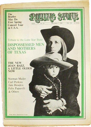 Rolling Stone Magazine December 7, 1968